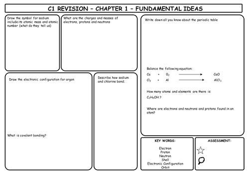 C1 revision sheets by gavinterry24 teaching resources tes urtaz Choice Image