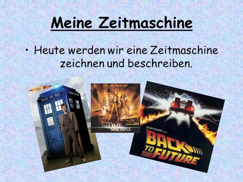 Meine Zeitreise Y9 German Project