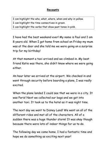 Descriptive narrative essay about a person