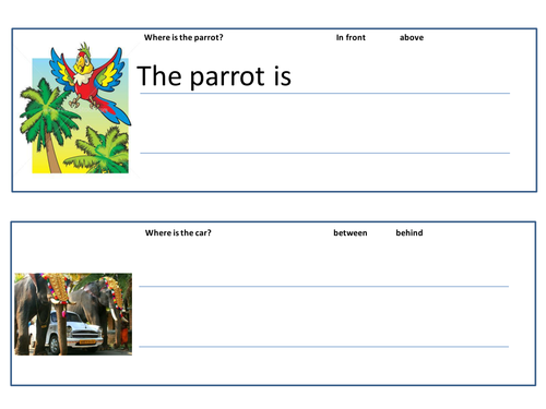 Positional Vocabulary