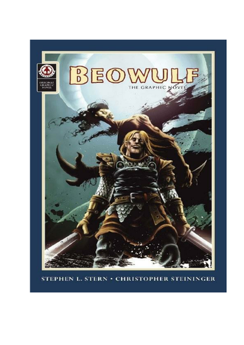 First lesson for Robert Nye's 'Beowulf'