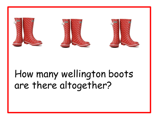 Image result for counting in 2s wellingtons