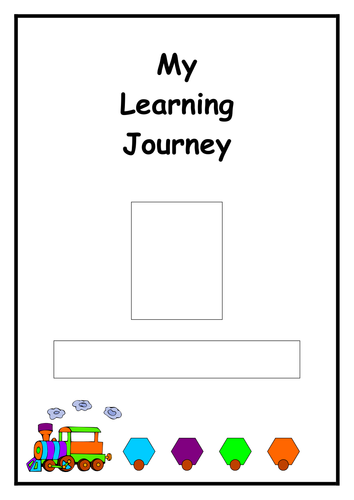 Book Cover Template Tes ~ Eyfs learning journey cover by choralsongster teaching