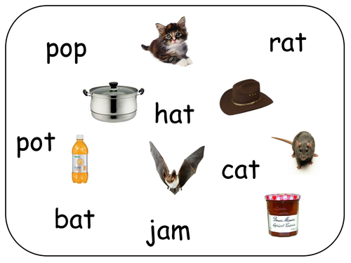 Cvc Word And Picture Match By Claireh1039 Teaching Resources Tes