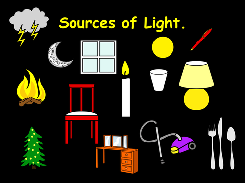 Sources of light | Teaching Resources