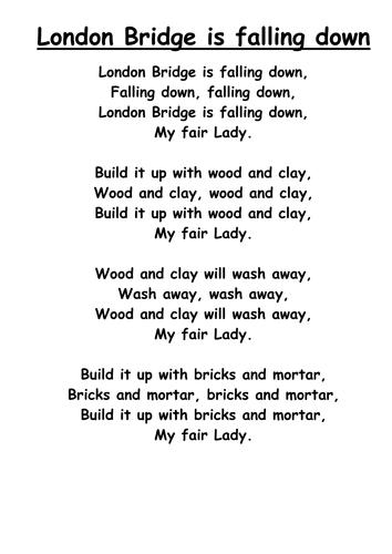 Nursery rhymes scheme reception and year 1