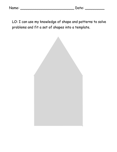 Shape Problem Solving