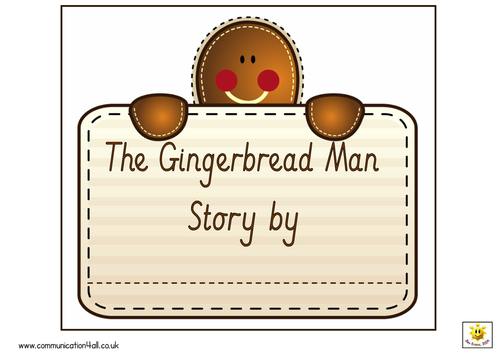 The Gingerbread Man Traditional Tales Collection by bevevans22 ...