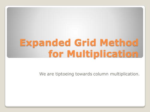 Column Method Multiplication Worksheet the grid method explained – Expanded Algorithm Multiplication Worksheets