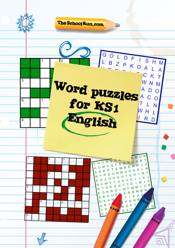 Word Puzzles For Key Stage 1 English By TheSchoolRun