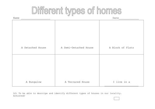 types of buildings