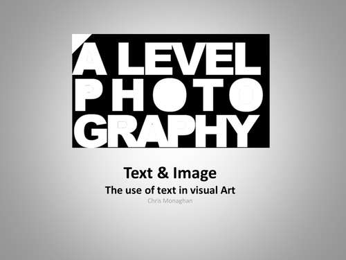 Image & Text (Intro Powerpoint)