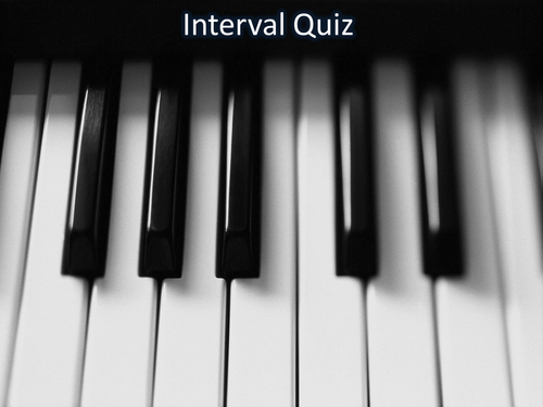 Interval and Chord Tester PPT