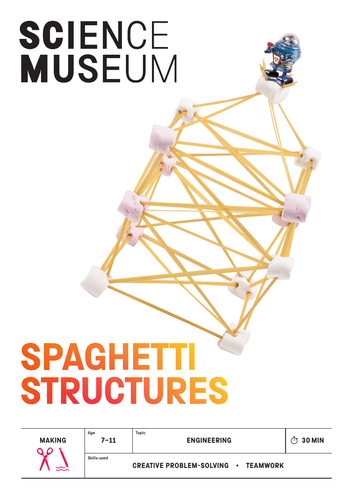 spaghetti challenge stem activity by sciencemuseumlearning teaching resources tes. Black Bedroom Furniture Sets. Home Design Ideas
