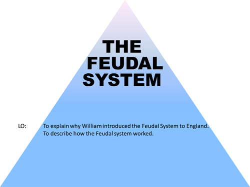 The Feudal System by timjohnson100 Teaching Resources Tes – Feudalism Worksheet