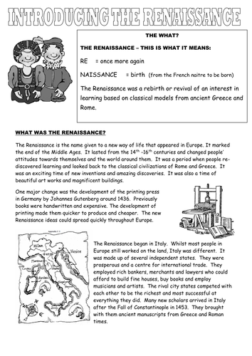 Introduction to the renaissance by tiddlypoohsmum teaching introduction to the renaissance by tiddlypoohsmum teaching resources tes gumiabroncs Image collections