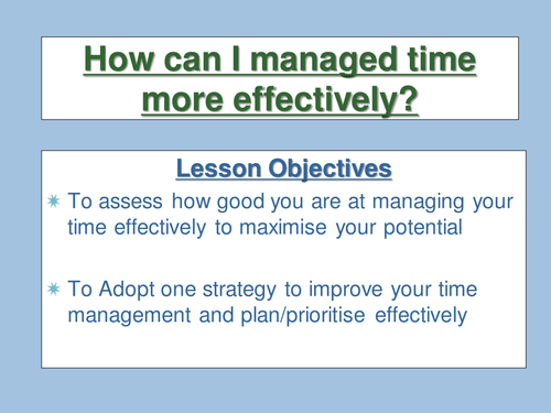 Independent learning resources time management ibookread Download