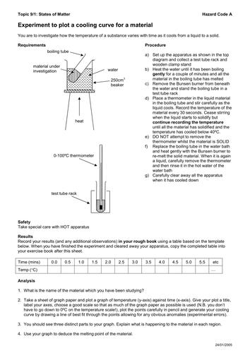 IGCSE P5 Specific Heat Capacity and Latent Heat