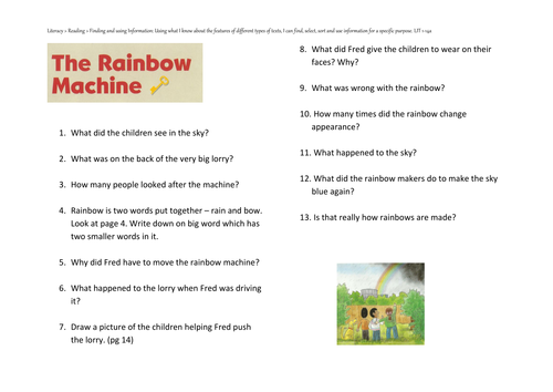 Oxford Reading Tree - The Rainbow Machine