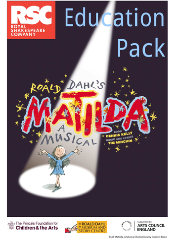 Matilda (the musical) Teacher Pack