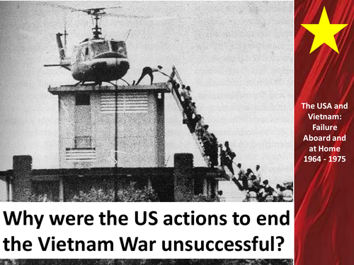 US Actions to End the Vietnam War