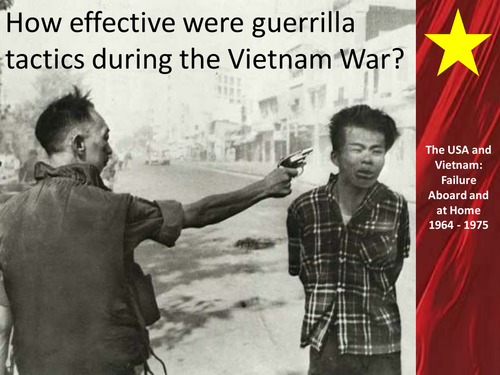Guerilla Tactics during the Vietnam War