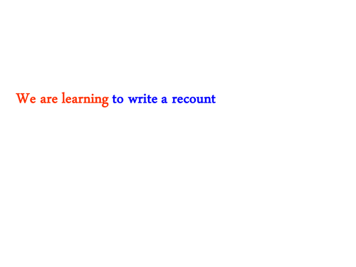 Ks1 recount plan template by graygray2010 teaching resources tes how to write a recount features of saigontimesfo