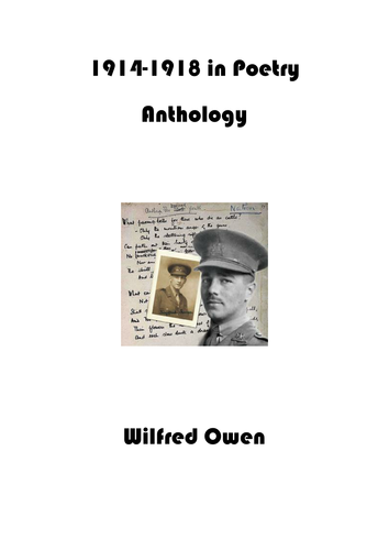 OCR Poetry Controlled Assessment: Wilfred Owen by ianmcc