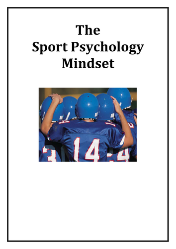 Applying Sport Psychology for Performance