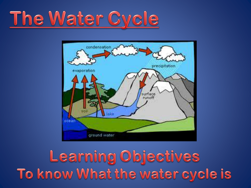 The water cycle by jackbroome98 teaching resources tes ccuart Gallery