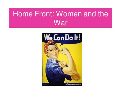 Role of Women in WWI