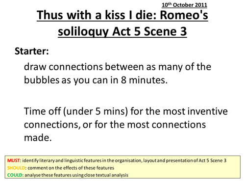 Romeo And Juliet Act  Scene   Theme Of Fate With Context By  Romeo And Juliet Act  Scene  Argumentative Essay Examples High School also Writing Service Level Agreement Template  Personal Essay Examples For High School