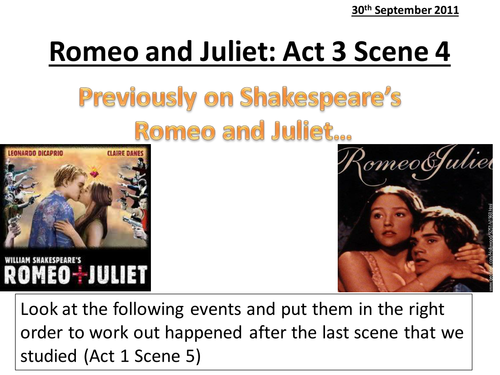 romeo and juliet act scene and powerpoint and activities romeo and juliet act 5 scene 1 2 and 3 powerpoint and activities by emmaherod teaching resources tes