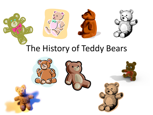 The History of the Teddy Bear: From Wet and Angry to Soft and Cuddly