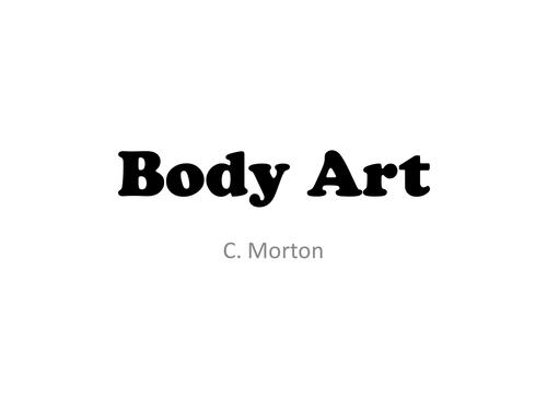 Body Casting Body Art