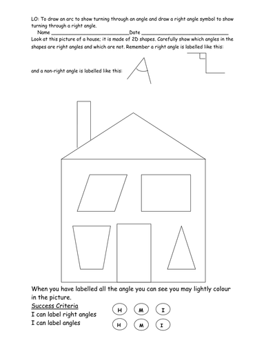 Labeling angles and right angles by gjpacker84 teaching for Right angle house