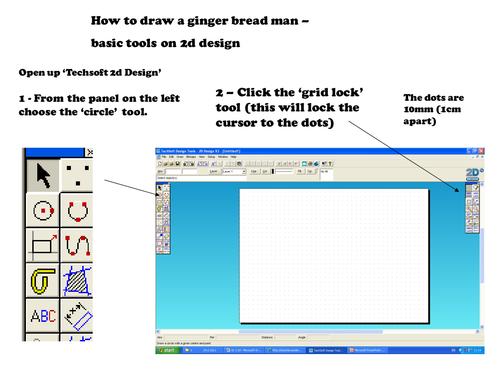 2d Design Tutorial 39 Ginger Bread Man 39 By Dondanij