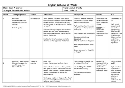 justification of a scheme of work Jim mcgrath and anthony coles - your teacher training handbook scheme of work i had launched the second skill acquisition pack, and have started to work my.