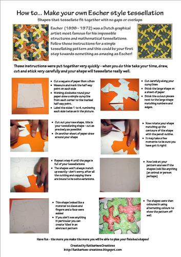 How to make Escher Style Tessellation