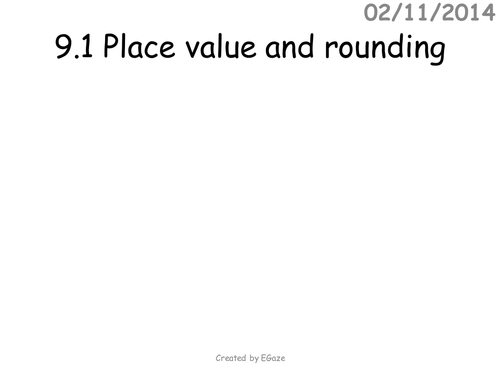 Counting Number worksheets place value decimals worksheets tes : Place value and decimals lesson by ibblet - Teaching Resources - TES