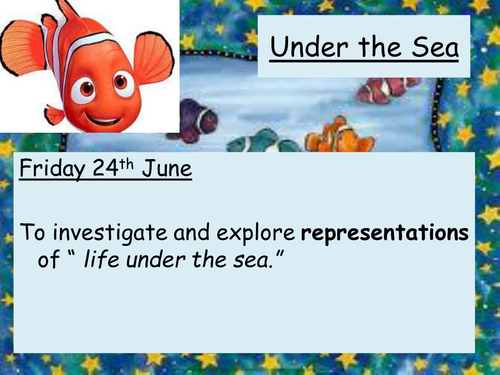 lesson plan under the sea level