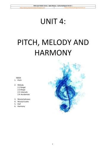 how to teach pitch in music
