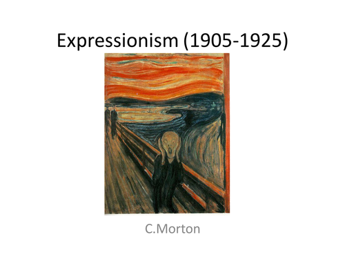 Expressionism Powerpoint