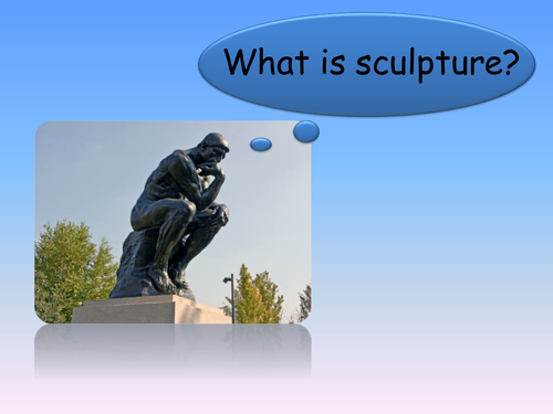 What is sculpture?
