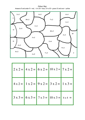 Times table worksheet by lbrowne teaching resources tes for 85 times table