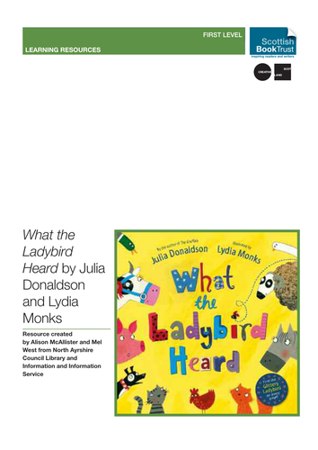 What the Ladybird Heard teaching resources