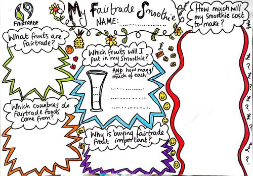 Fairtrade Maths Activity Sheets By Bethyevans Teaching Resources Tes