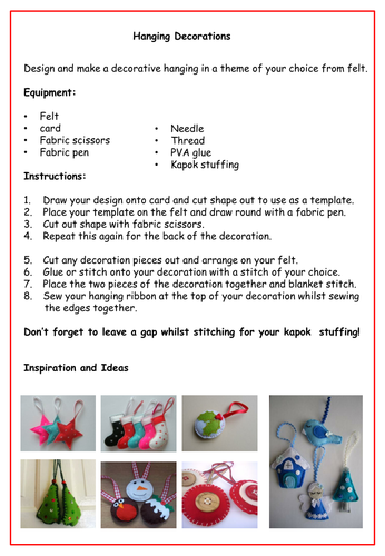 Extension tasks -  christmas