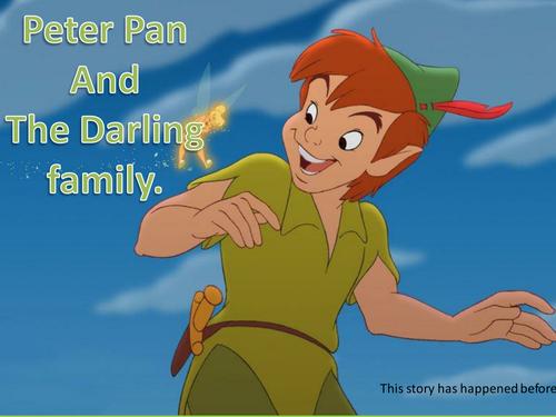 peter pan essay