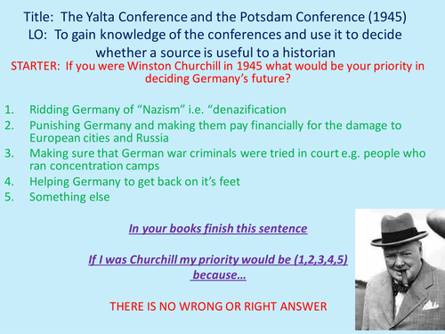 and extent did conferences yalta and potsdam 1945 contribu The yalta and potsdam conferences contention and the yalta conference: feb 4-11, 1945 meeting of the big three be seen as a success to an extent.
